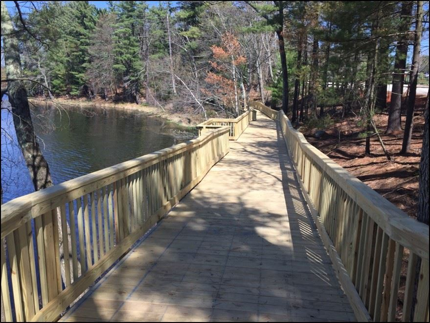 mill pond boardwalk