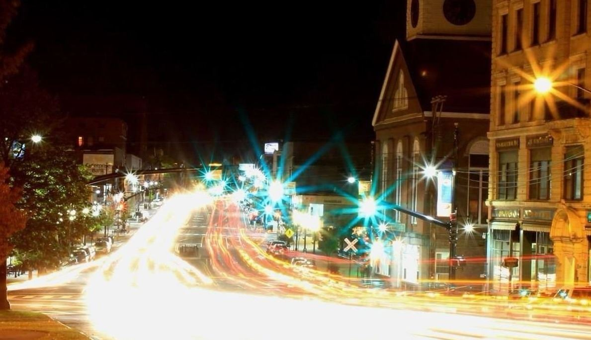 Nashua at Night - by: Dana Dillavou