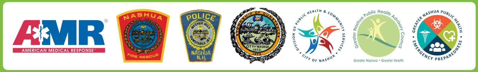 Thank you to our partners: AMR, Nashua Fire Rescue, Nashua Police Department, City of Nashua Office