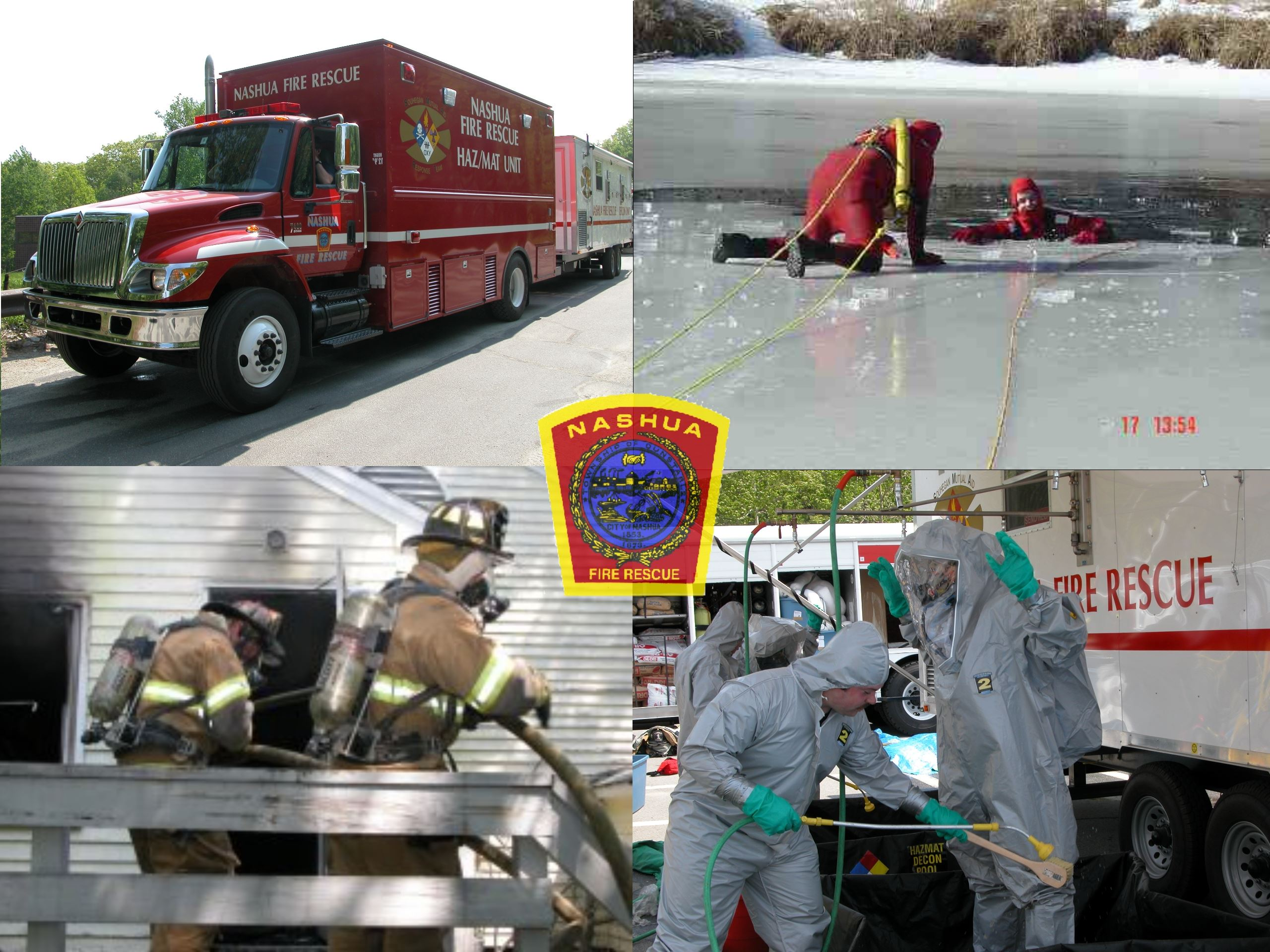Training Safety Collage