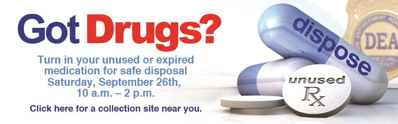 Drug Take Back Web Banner