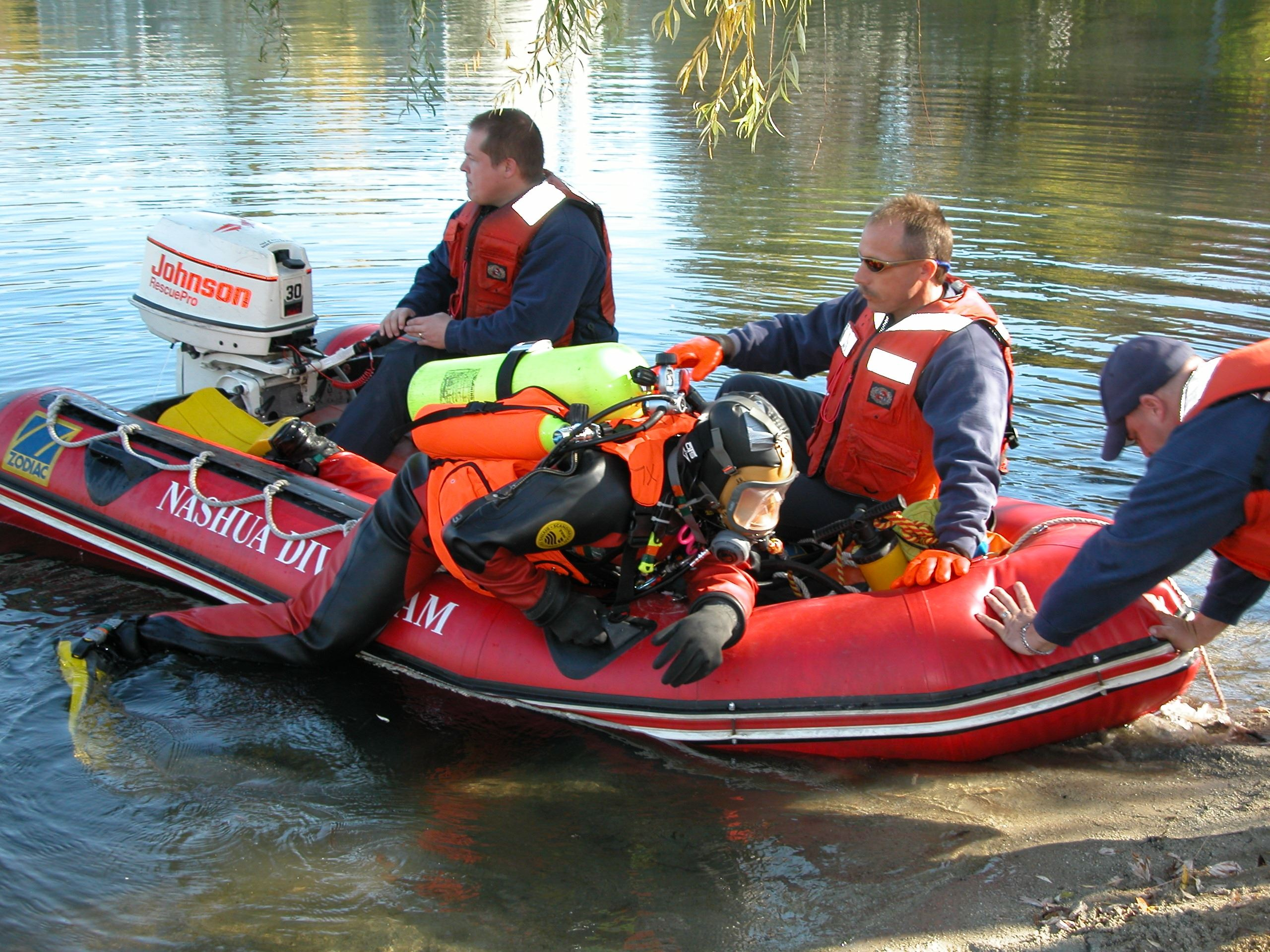 Dive Training - Boat